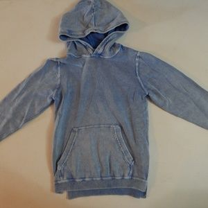 Boys' Size 4/6 H&M Washed Out Denim Look Hoodie